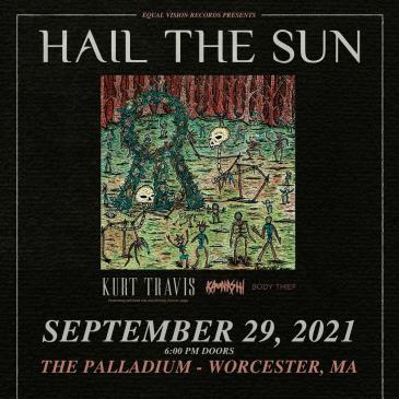 HAIL THE SUN - NEW AGE FILTH TOUR 2021: Main Image