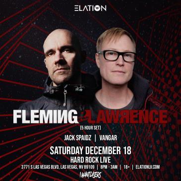 Elation Presents: Fleming & Lawrence (18+): Main Image
