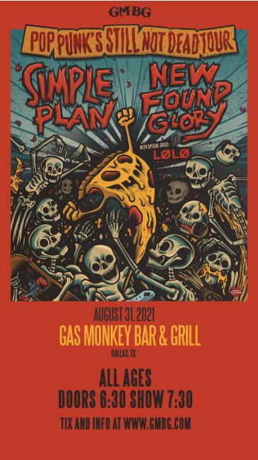 Simple Plan/New Found Glory - Pop Punk's Still Not Dead Tour: Main Image
