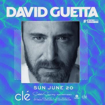 David Guetta / June 20th / Clé Summer Sessions: Main Image