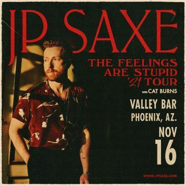 JP Saxe: The Feelings Are Stupid Tour: Main Image