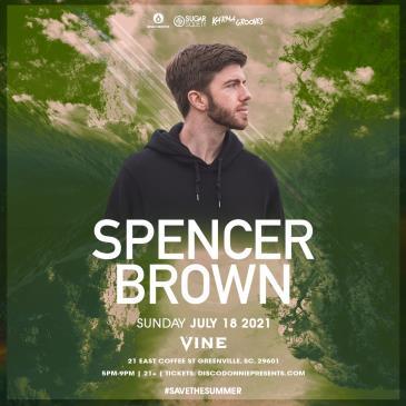 Spencer Brown - GREENVILLE: Main Image