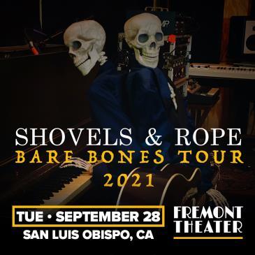 """Shovels & Rope - """"The Bare Bones Tour"""": Main Image"""