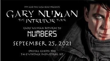 Gary Numan Returns to Numbers: Main Image