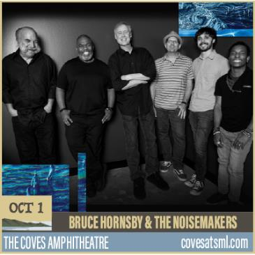 BRUCE HORNSBY & THE NOISEMAKERS w. John Mailander's Forecast: