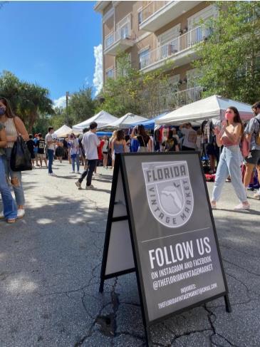 The Florida Vintage Market at High Dive: Main Image