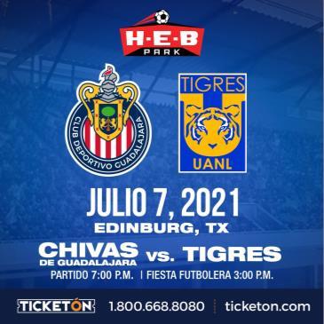 CHIVAS DE GUADALAJARA VS TIGRES: Main Image