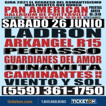 EL REGRESO DEL ROMANTICISMO PANAMERICAN: Main Image
