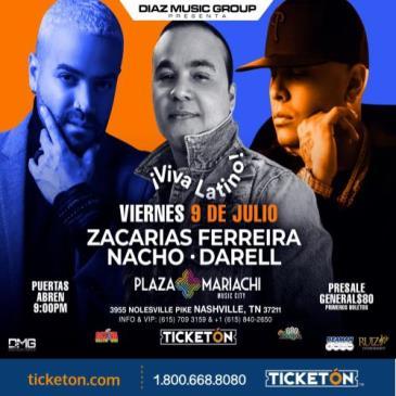 ZACARIAS FERREIRA - NACHO & DARELL ¡VIVA LATINO!: Main Image