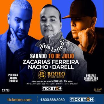 ZACARIAS FERREIRA - NACHO & DARREL ¡VIVA LATINO!: Main Image