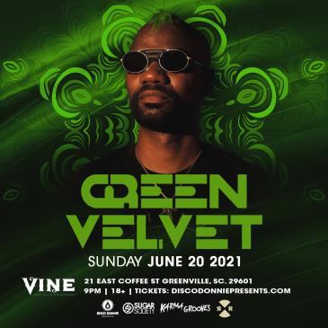 Green Velvet - GREENVILLE: Main Image