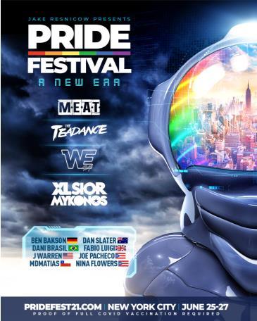 PRIDE FESTIVAL 2021 PASS (SAVE 40%): Main Image