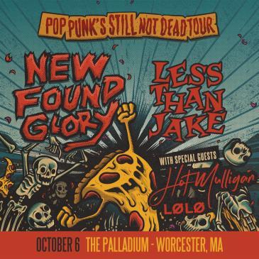 NEW FOUND GLORY - Pop Punk's Still Not Dead Tour:
