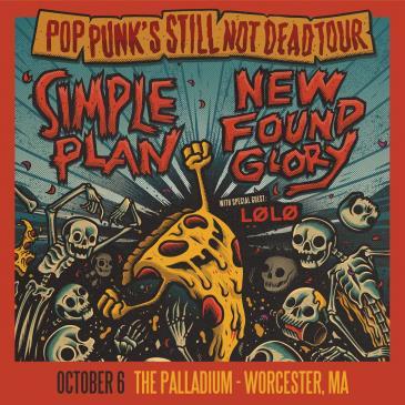 SIMPLE PLAN/NEW FOUND GLORY -Pop Punk's Still Not Dead Tour: Main Image
