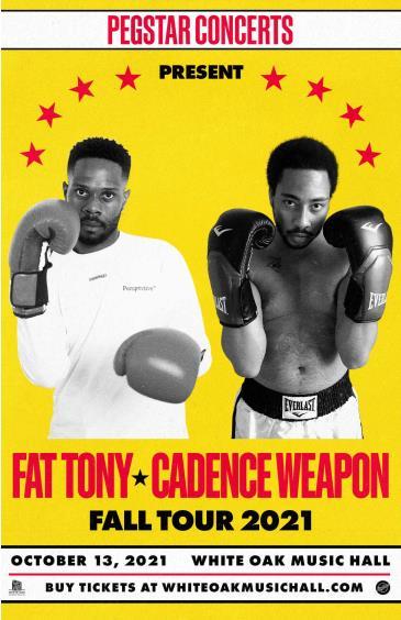 Fat Tony + Cadence Weapon: