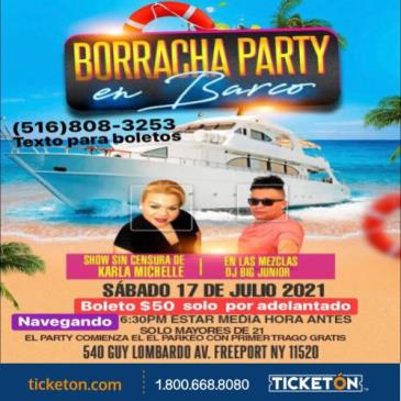 BORRACHA PARTY EN BARCO