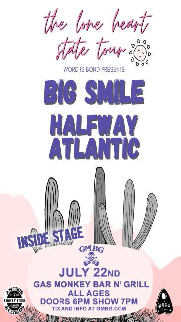 Big Smile / Halfway Atlantic - INSIDE STAGE: Main Image