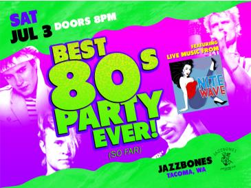NITE WAVE (Live 80s New Wave): Best 80s Party Ever! (So Far): Main Image