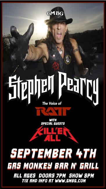 Stephen Pearcy - The Legendary Voice of Ratt: Main Image