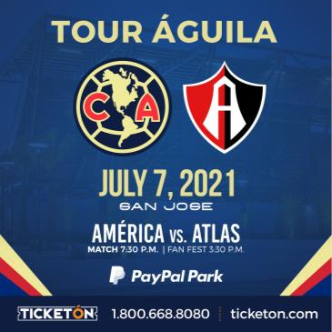 CLUB AMERICA VS ATLAS: Main Image