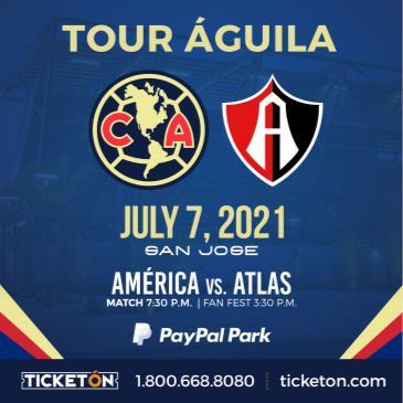 CLUB AMERICA VS ATLAS