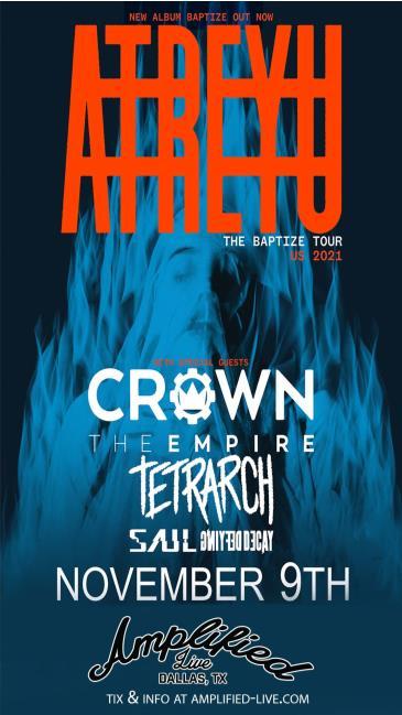 Atreyu: The Baptize Tour: