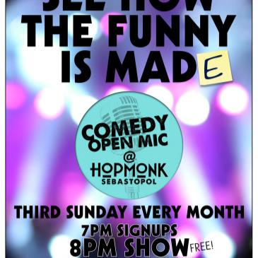COMEDY OPEN MIC (EVERY 3RD SUNDAY)-img