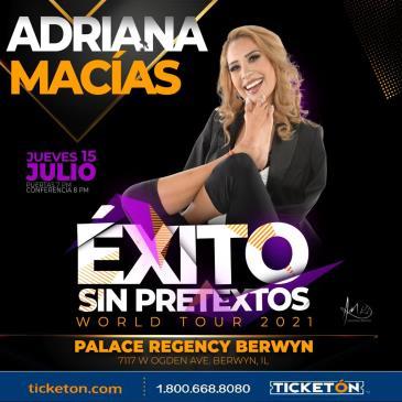 ADRIANA MACIAS/ EXITO SIN PRETEXTOS: Main Image