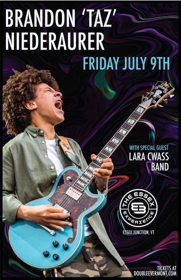 "Brandon ""Taz"" Niederauer with special guest Lara Cwass Band: Main Image"