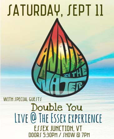 Annie in the Water with special guest Double You:
