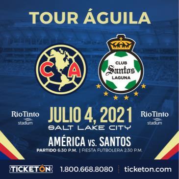 CLUB AMERICA vs SANTOS: Main Image