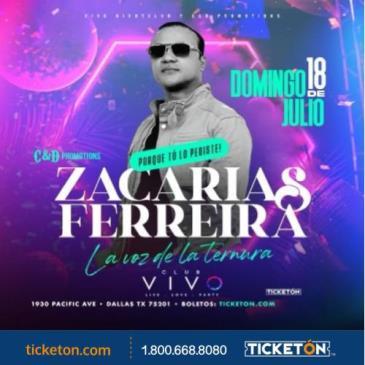 ZACARIAS FERREIRA: Main Image