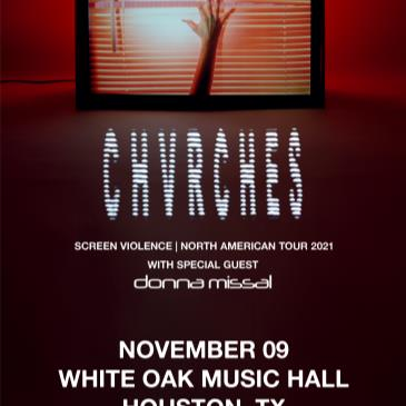 CHVRCHES with special guest Donna Missal-img