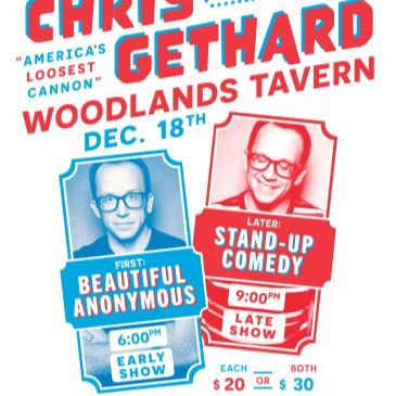 """Chris Gethard """"AMERICA'S LOOSEST CANNON"""" at Woodlands Tavern-img"""