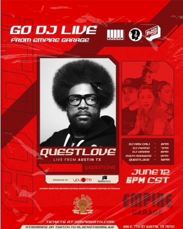 Questlove (DJ Set): Main Image