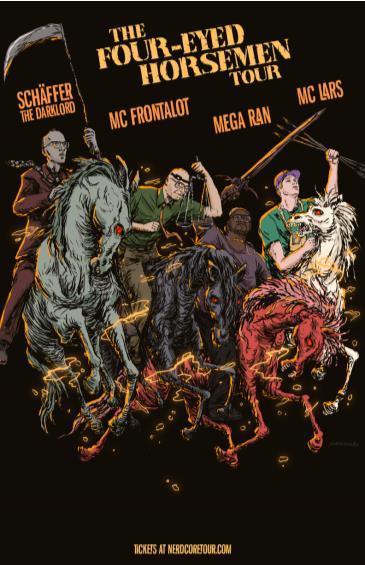 MC Lars & Mega Ran & MC Frontalot & Schaffer The Darklord: Main Image