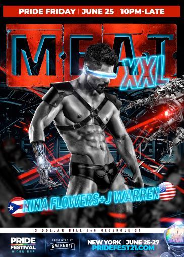 M.E.A.T. XXL | PRIDE FESTIVAL FRIDAY: