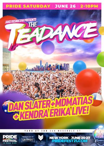 THE TEA DANCE | PRIDE FESTIVAL SATURDAY: Main Image