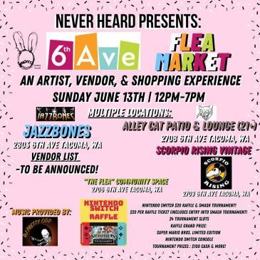 Never Heard Presents: 6TH Ave Flea Market: Main Image