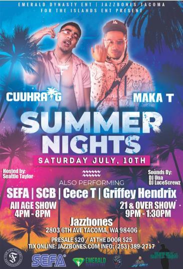 Summer Nights: Cuuhraig  // Maka T  All Ages: Main Image