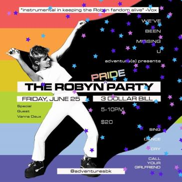 THE ROBYN PARTY: Main Image