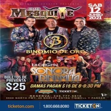 BINOMIO DE ORO Y LA ORIGINAL SONORA DINAMITA: Main Image
