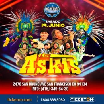 LOS ASKIS EN SAN FRANCISCO