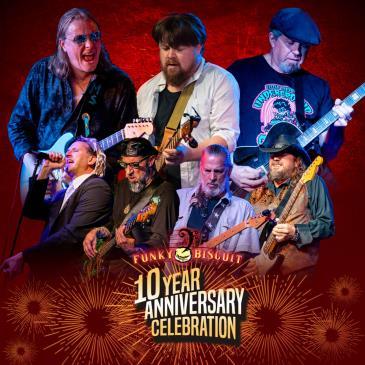10 Year Anniversary Celebration - Sunday Blues & BBQ: Main Image