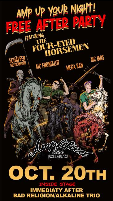 FREE SHOW: The Four-Eyed Horsemen - INSIDE STAGE: