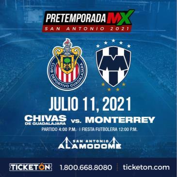 CHIVAS DE GUADALAJARA VS MONTERREY: Main Image