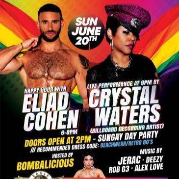 SUNGAY DAY PARTY with Crystal Waters and Eliad Cohen-img
