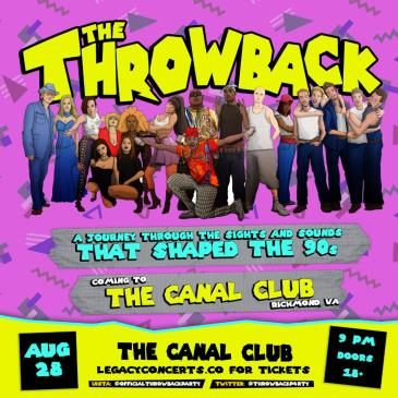 """""""The Throwback Party"""" CANCELLED:"""