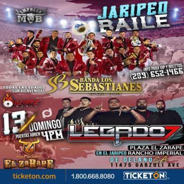 BANDA LOS SEBASTIANES Y LEGADO 7: Main Image