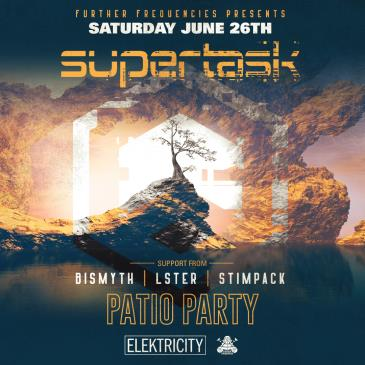 SUPERTASK: PATIO PARTY: Main Image
